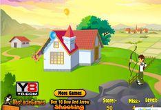 Игра Игра Бен 10: стрельба стрелами из лука