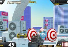 Игра Полицейский снайпер: Тренировка