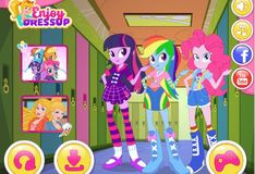 Игра Девушки Эквестрии: Снова в школу с пони