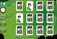 Игра Бен 10 и карты памяти