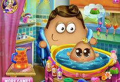 Игра Пой купает малыша