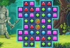 Игра Блиц драгоценных камней 4