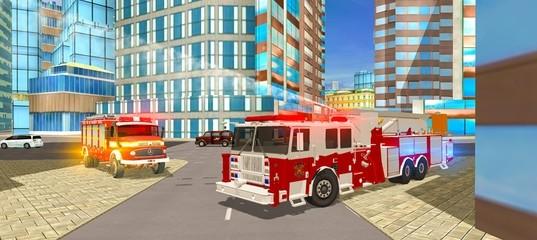 Симулятор пожарного