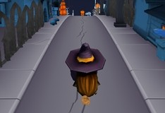 Игра Хеллоуиновский раннер