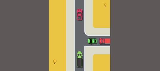 Поворот на дорогу