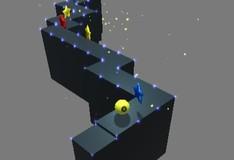 Игра Катаем мяч по высокой стене