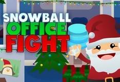 Игра Кидаем снежки в офисе