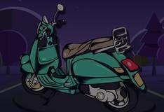 Игра Тест на память: классические скутеры