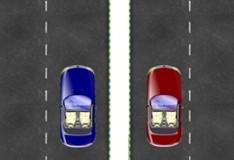 Игра Управляем двумя машинами