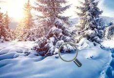 Игра Найди снежки