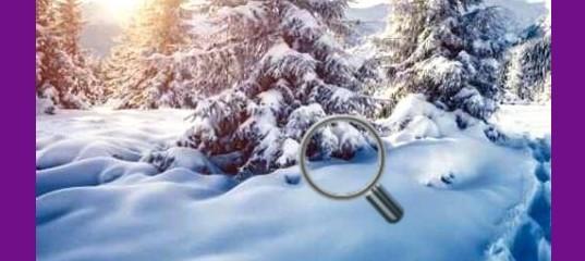 Найди снежки