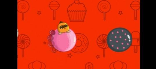 Прыжки по конфетам