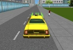 Игра Такси в Майами 3D