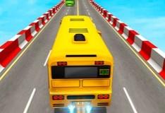 Игра Невероятные трюки на автобусе