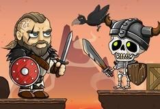 Игра Викинги против скелетов