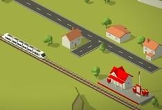 Игра Управляем поездом
