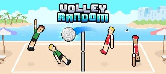 Рандомный волейбол