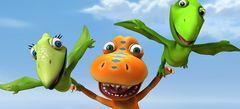 Игры Поезд динозавров онлайн бесплатно